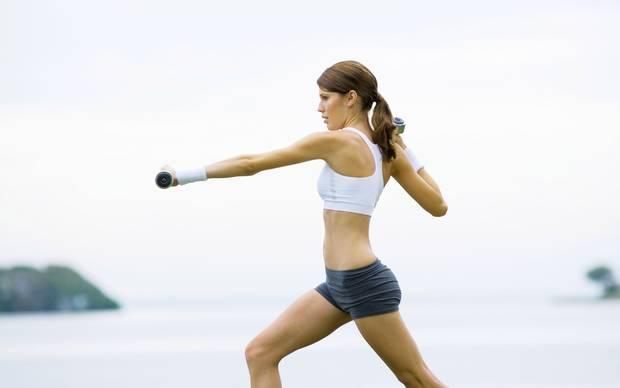 ejercicios tonificacion pecho