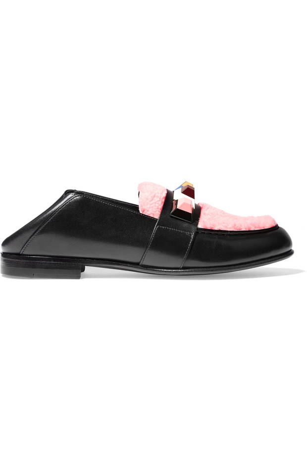 slippers negros