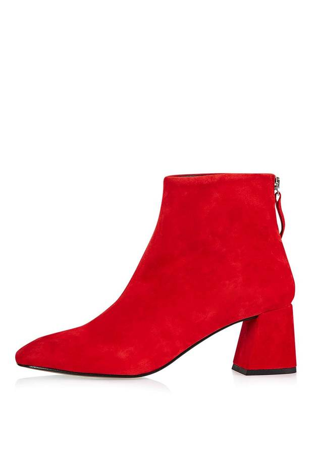 botín rojo