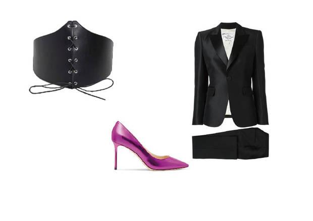 corset traje