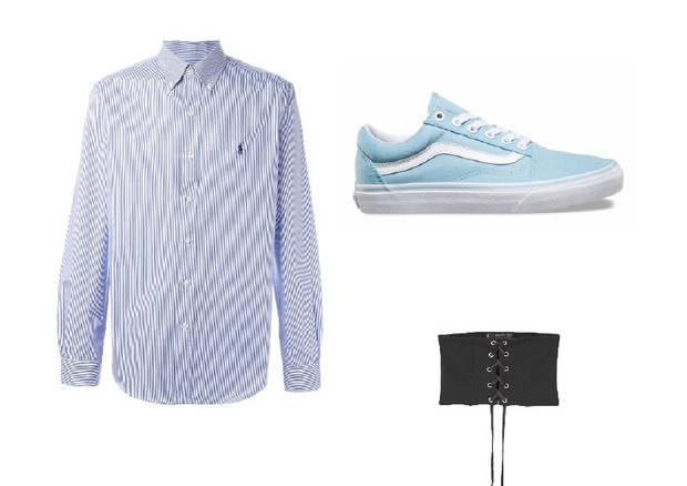 camisa masculina vestido