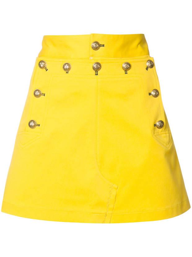 falda amarillo