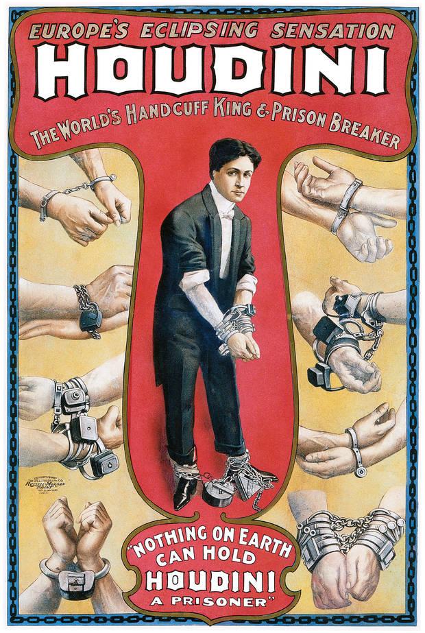 Cartel de Houdini (col. particular)
