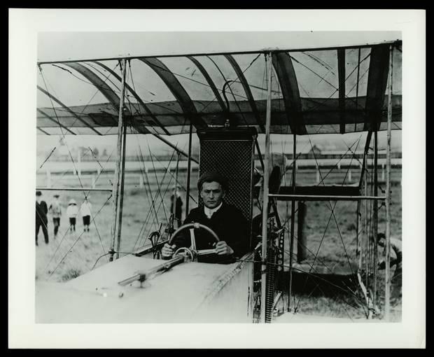Houdini En su faceta de aviador