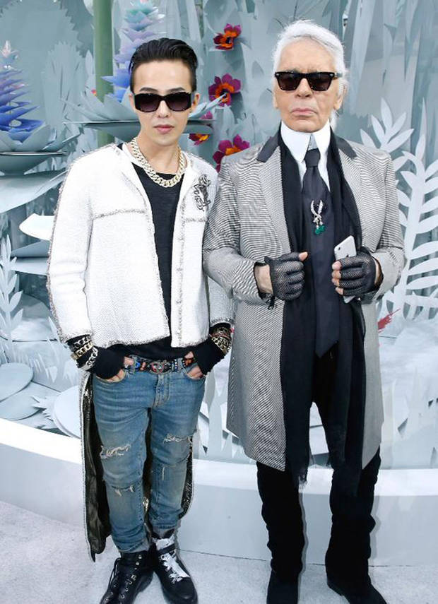 G dragon Karl Lagerfeld