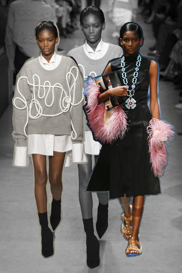 nuevas caras de la moda elibeidy pasarelas