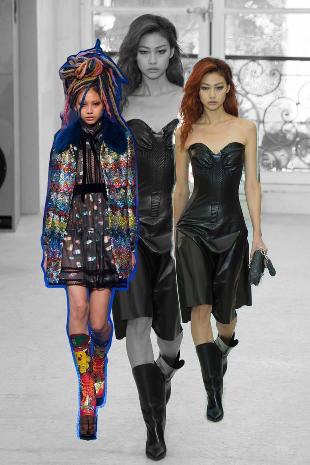 nuevas caras de la moda hoyeon pasarelas
