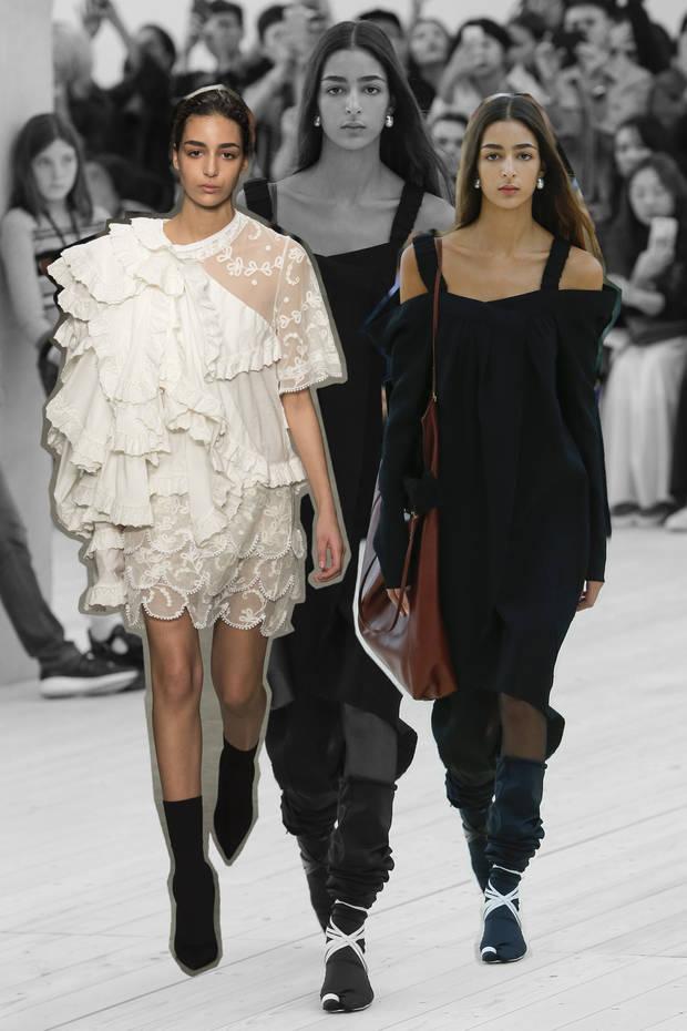 nuevas caras de la moda nora pasarelas