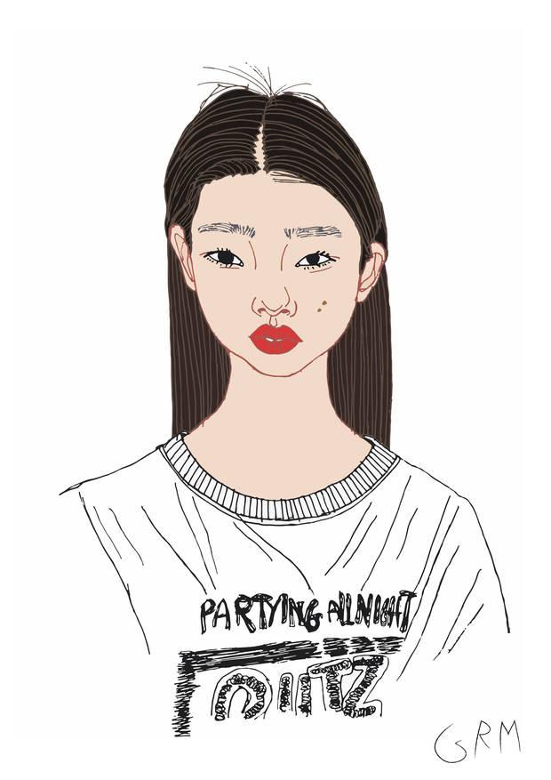 nuevas caras de la moda yoon young