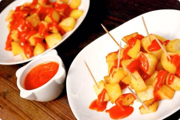 fin de semana san isidro patatas baravas