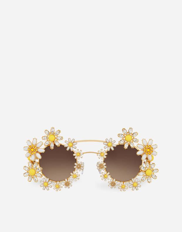 gafas flores