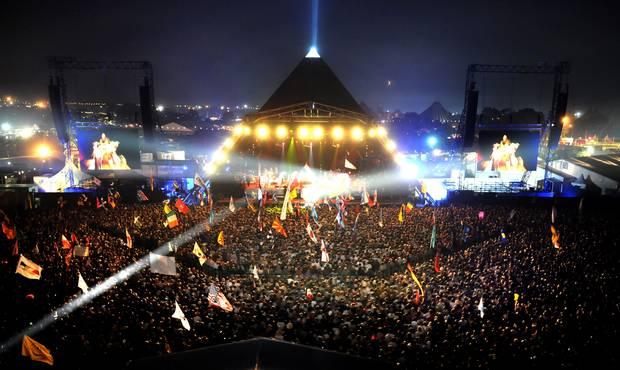 viaja a Glastonbury Festival