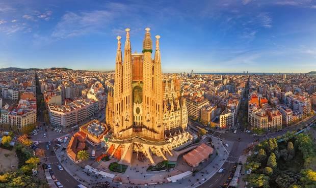 de viaje a barcelona