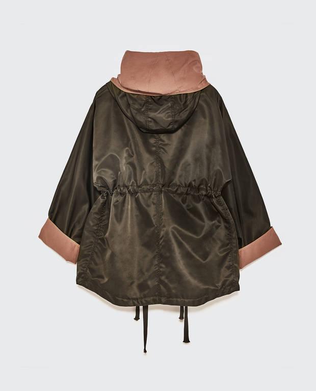 chaqueta khaki