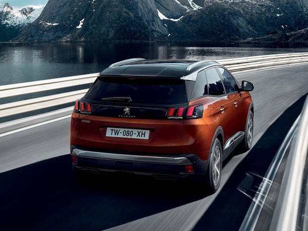 Coches SUV Peugeot 3008