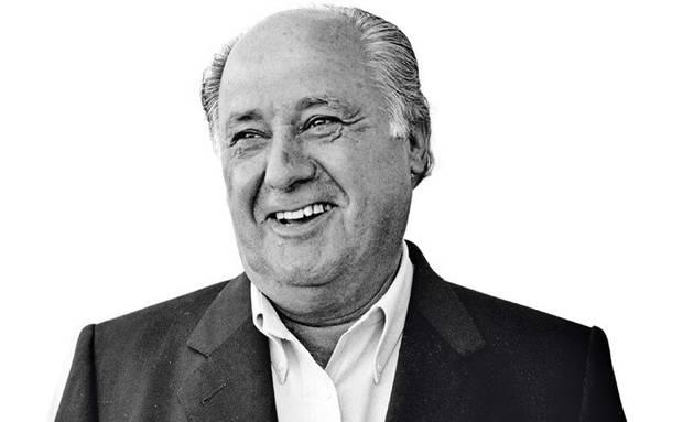 Famosos solidarios Amancio Ortega