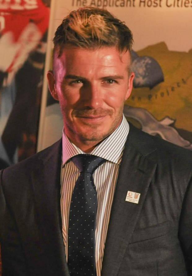 Famosos solidarios David Beckham
