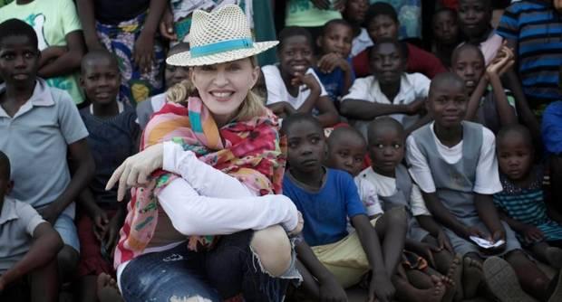 Famosos solidarios Madonna