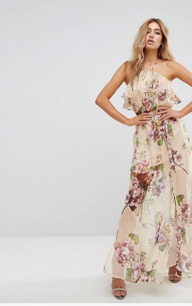 Sexy vestido maxi