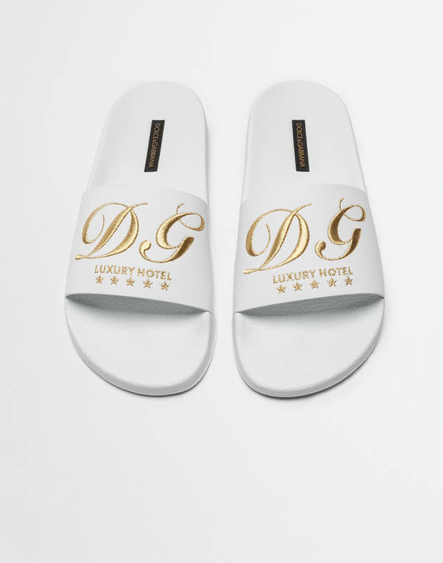 Chanclas Dolce and Gabbana