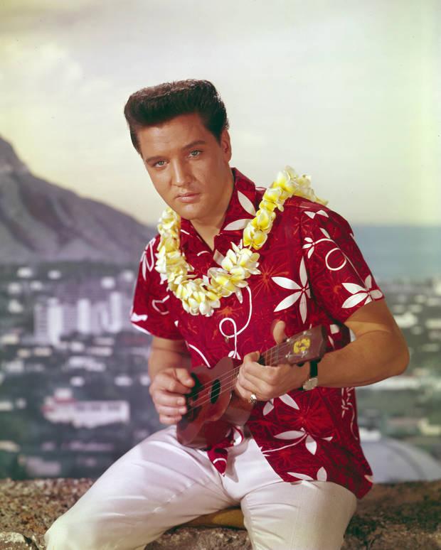 camisa hawaiana elvis