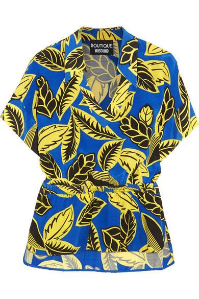 camisa hawaiana moschino