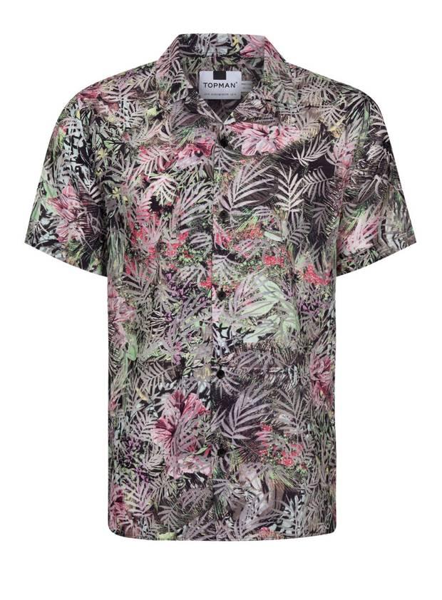 camisa hawaina topman