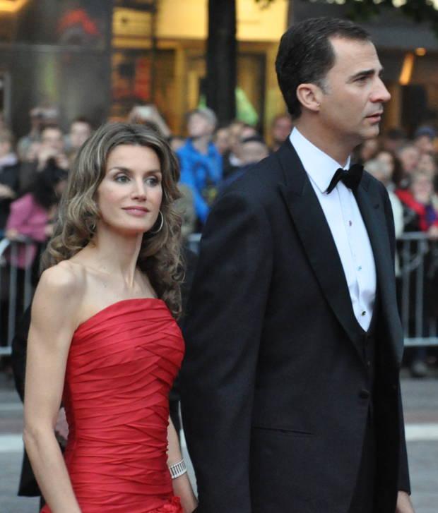 Royals Felipe y letizia
