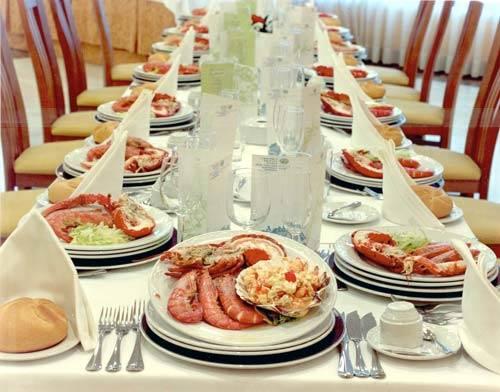 boda comida
