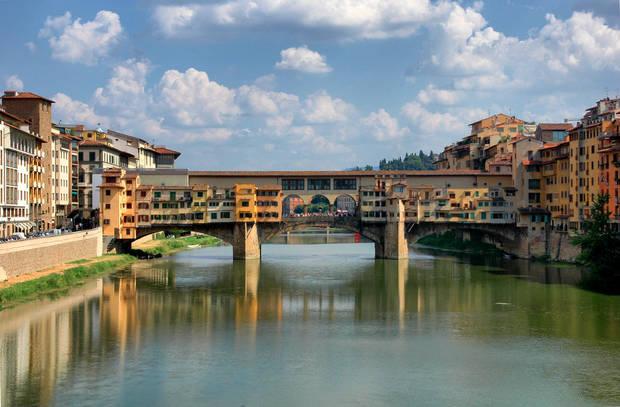 Italia Florencia ponte vecchio