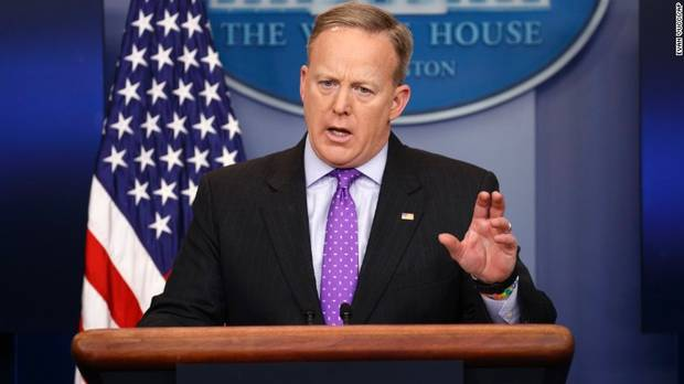 Donald Trump Sean Spicer