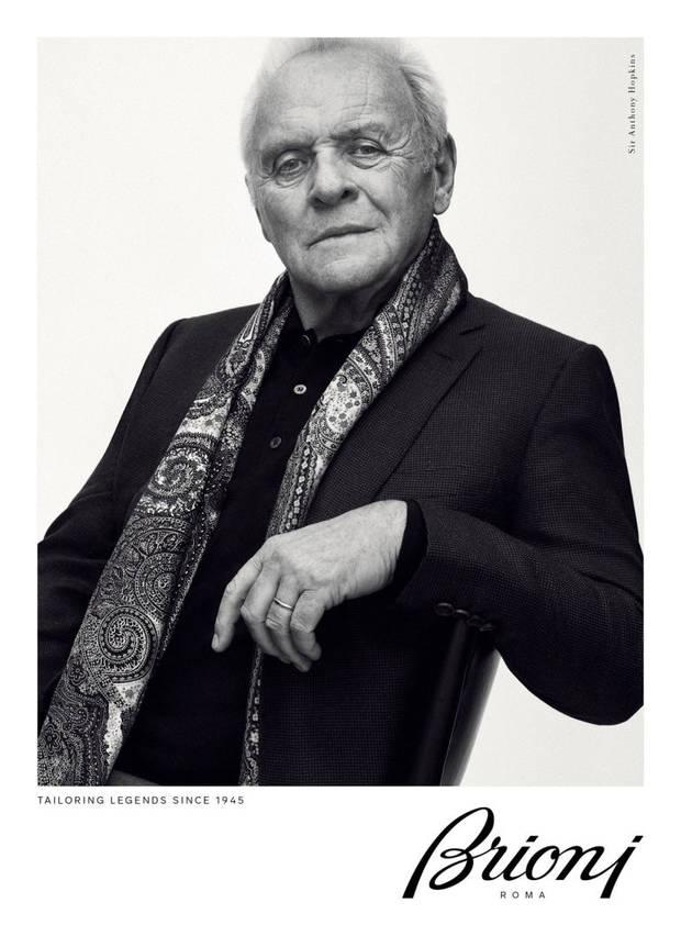 Modelo Anthony Hopkins Brioni