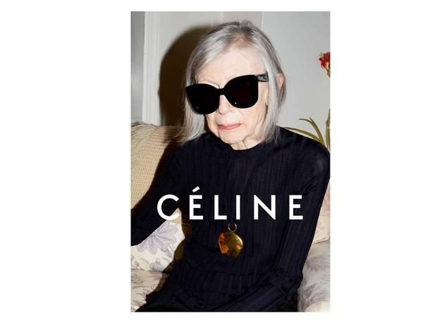modelo joan didion celine