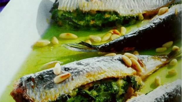 Recetas Sardinas rellenas con espinacas