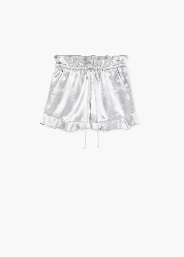 Shorts con volante Mango 02