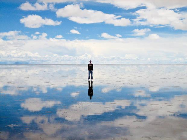 Lugares curiosos Salar de Uyuni, Bolivia