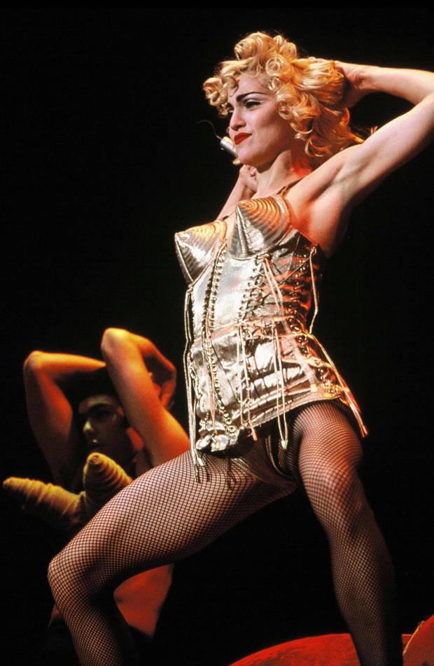 Madonna The blond ambition tour