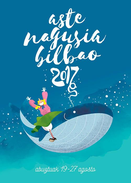 cartel de las fiestas de bilabo