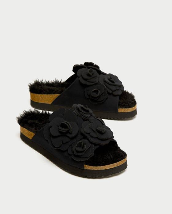 zapatos planos Zara
