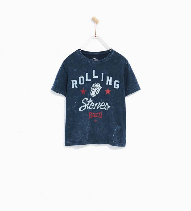 camiseta heavy Zara