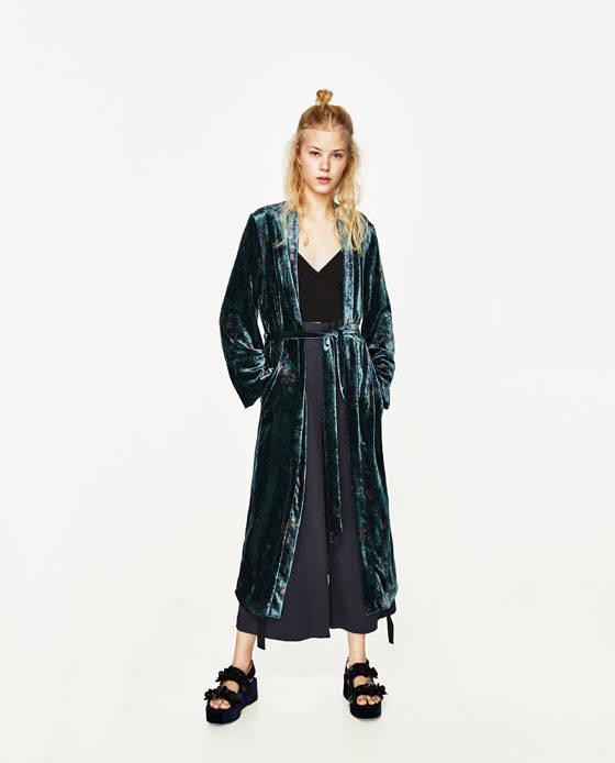 prendas kimono zara