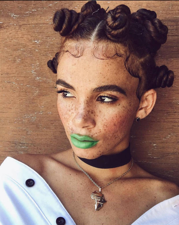 afro joyjah bantu knots - vanidad - 4