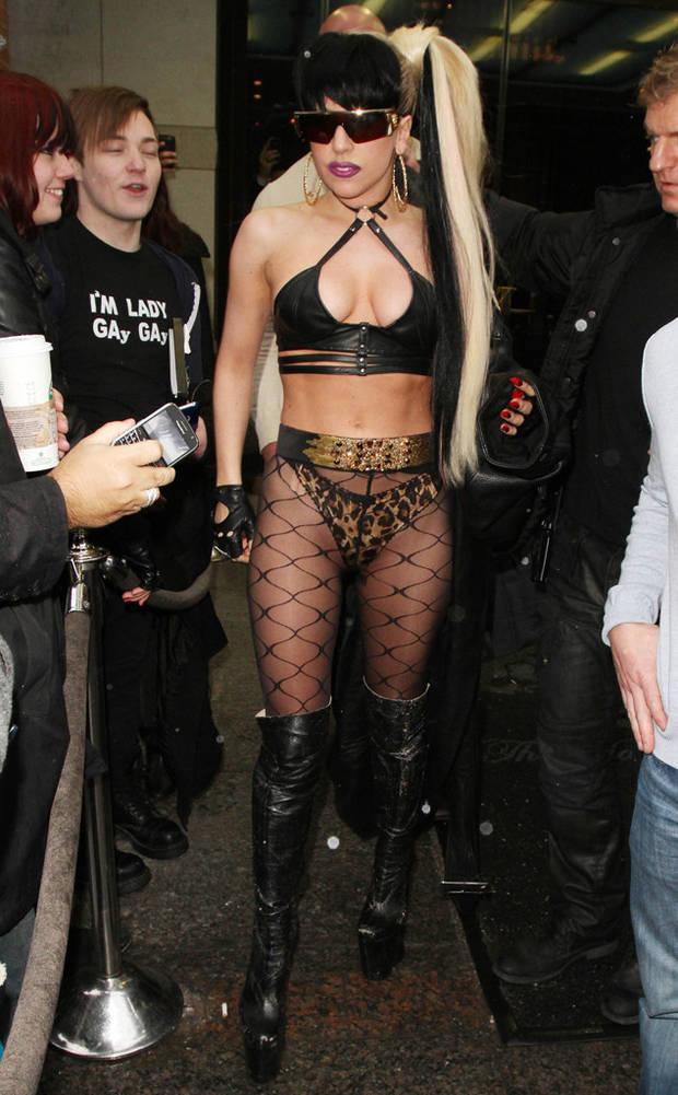 medias pantalón Lady Gaga