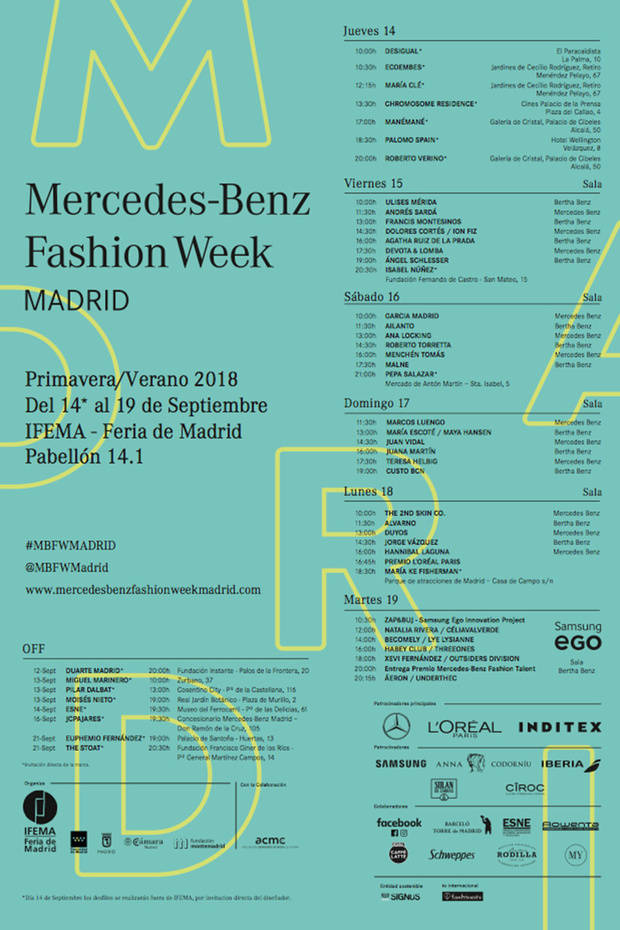 genda Mercesde Benz Fashion Week 2017