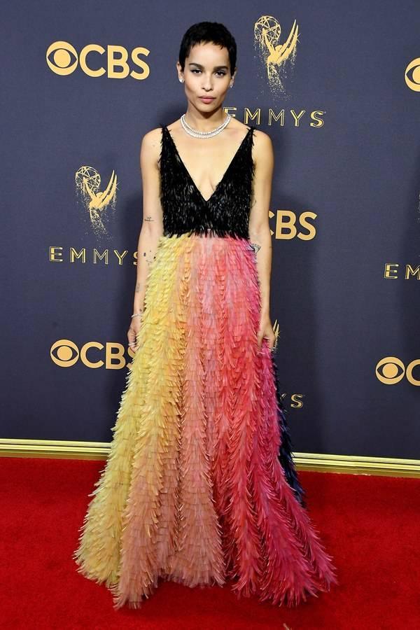 Emmys - Zoe Kravitz - Dior