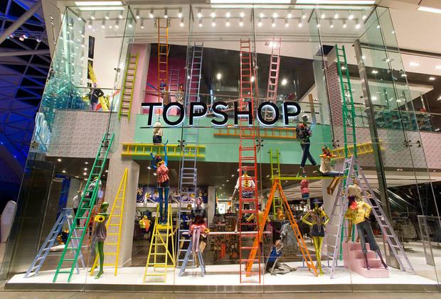 marcas top shop