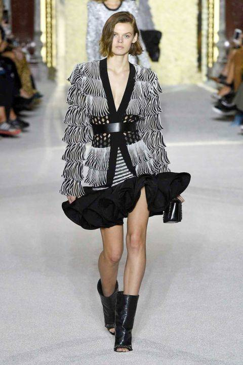 paris fashion week - Balmain 1