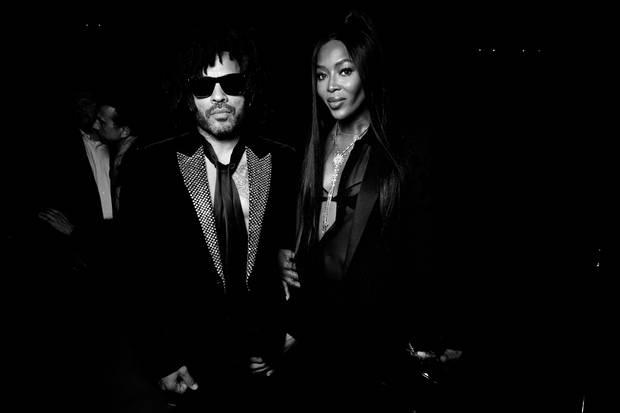 Lenny Kravitz & Naomi Campbell