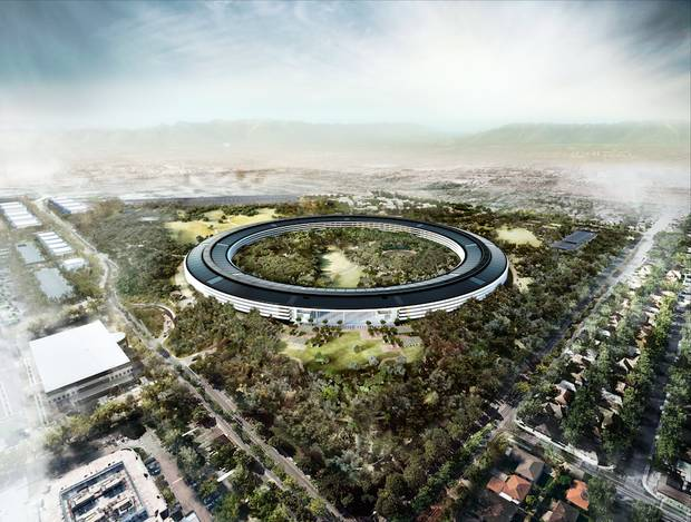 Norman Foster Apple Cupertino