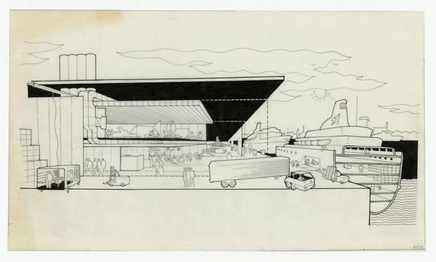Norman Foster dibujos